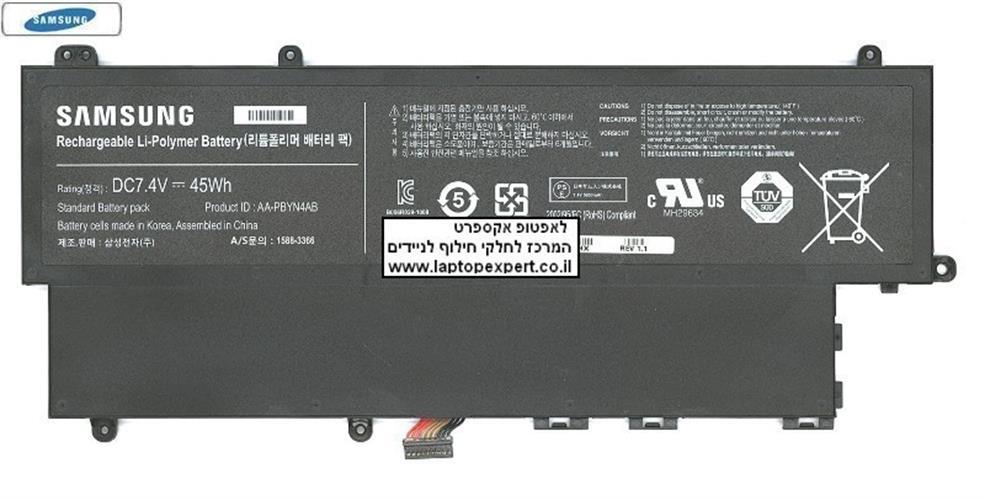 סוללה מקורית פנימית למחשב נייד סמסונג Samsung Battery AA-PBYN4AB Laptop Samsung 530U3B, 530U3C BA43-00336A