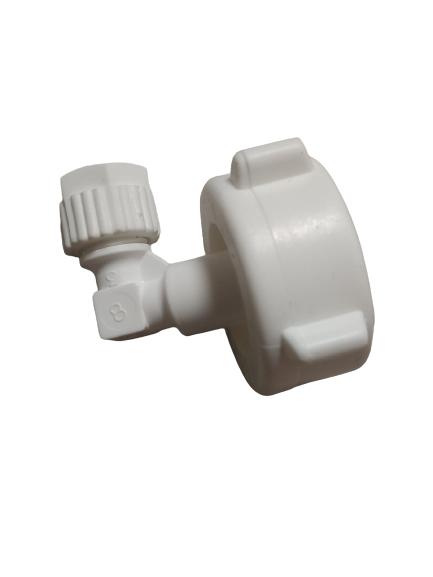 מחבר הברגה 3/4 לצינור 8 ממ - חיבור צינור מים לתמי4