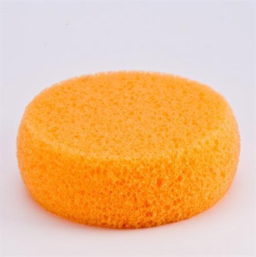 ספוגית קשיחה עגולה לרקעים orange firm sponge Cameleon