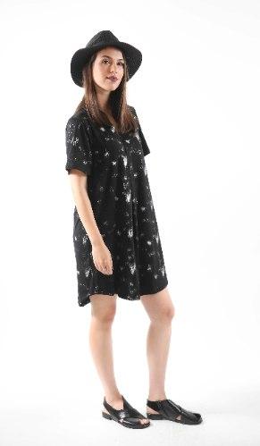 שמלת נרקיס שחורה