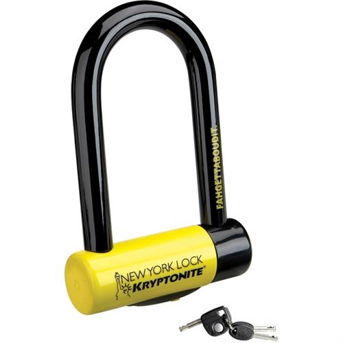 מנעול לאופניים - Kryptonite New York Fahgettaboudit U-lock