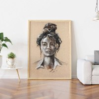 portrait of woman 2
