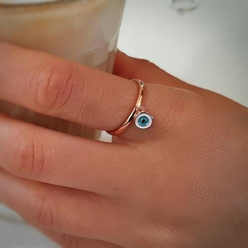 טבעת עין רוזגולד