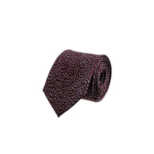 עניבה בורדו זיקוק מתפרץ