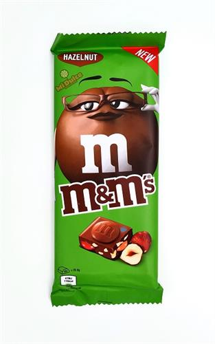 טבלת שוקולד m&m אגוזים