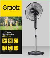 Graetz מאוורר 16 עמוד + טיימר דגם GRS338