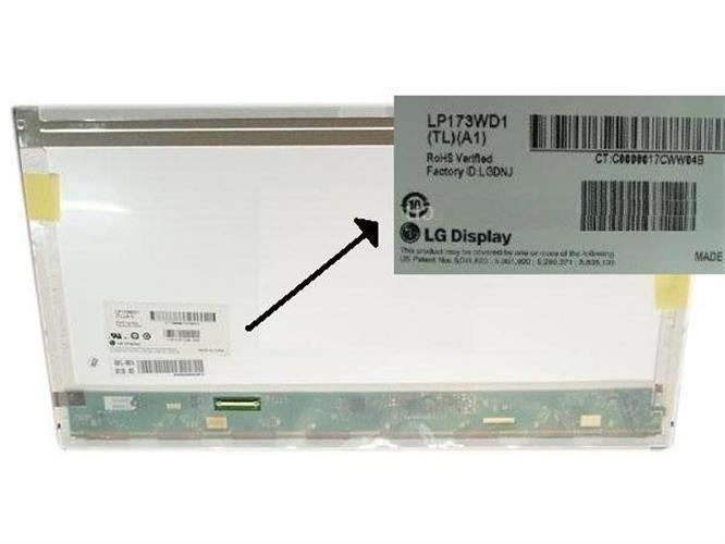 החלפת מסך למחשב נייד LP173WD1-TLA1 LCD Display 17.3