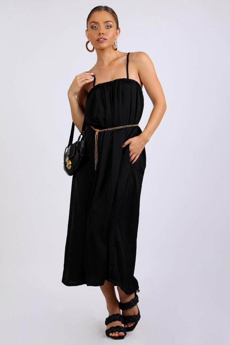 שמלת ערב גלורי שחור