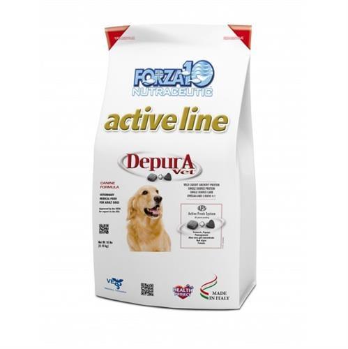 """מזון רפואי לכלבים פורזה DEPORA מ 10 ק""""ג"""