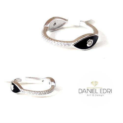 טבעת 2 עניים שחורות