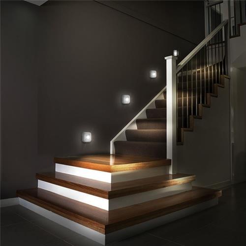 מנורת לד מרובעת עוצמתית עם חיישן תנועה אוטומטי - מומלץ!