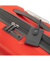 מזוודה עליה למטוס קשיחה מעולה פוליפרופילן 20 RICARDO BEVERLY HILLS אדום