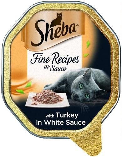 מעדן שיבא לחתולים הודו ברוטב 85 גרם -  SHEBA CAT FOOD TURKEY WITH SAUCE 85G