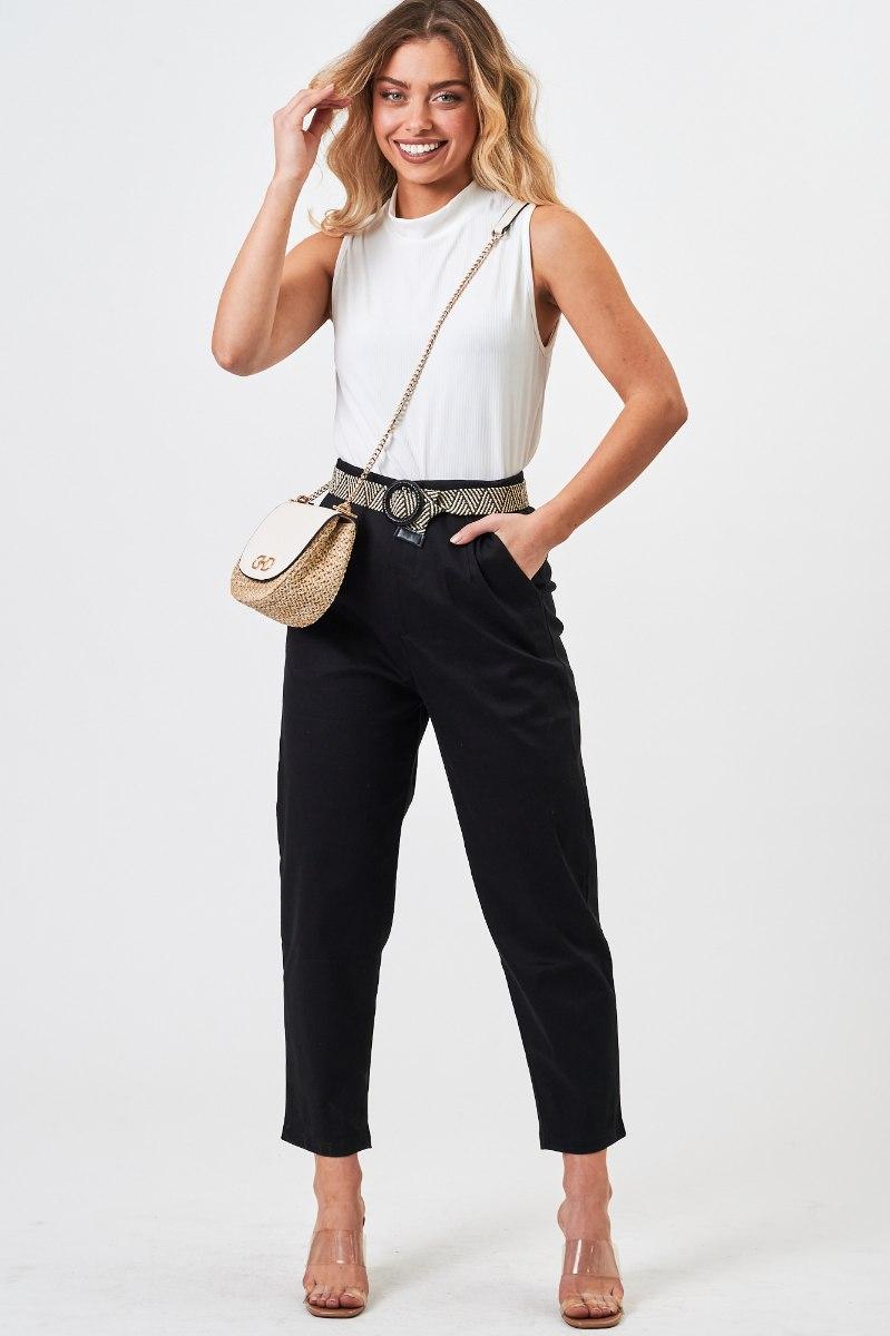 מכנס קנדל  שחור