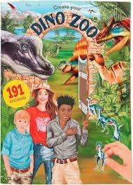 טופ מודל חוברת עבודה גן חיות דינוזאורים TOP MODEL