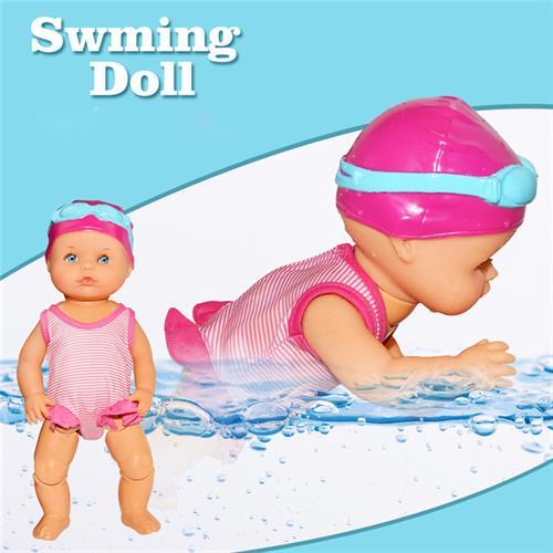 בובת לימוד שחייה לילדים