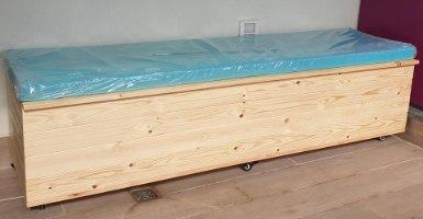 ארגז אחסון מעץ 180