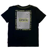 טישרט LEVIS שחור/צהוב - 1-13 שנים