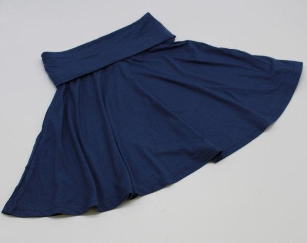 חצאית בנות ויסקוזה כחול