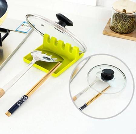 כלי להחזקת כלי מטבח במהלך הבישולים
