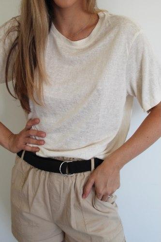 חולצת שיל קרם