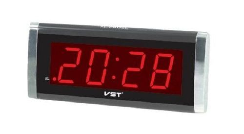 שעון מעורר חשמלי לד VST-730