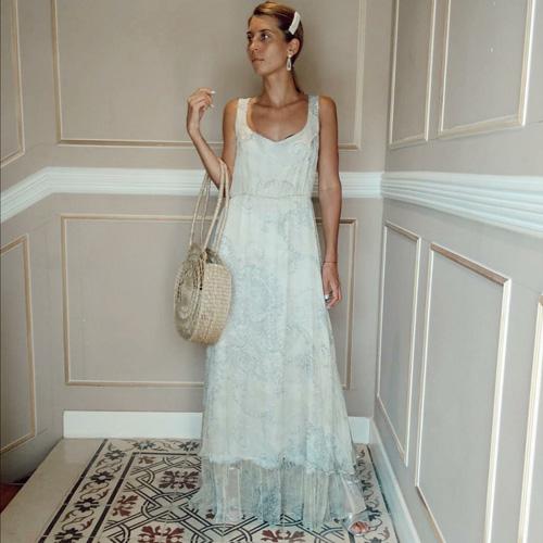 שמלת RETRO משי