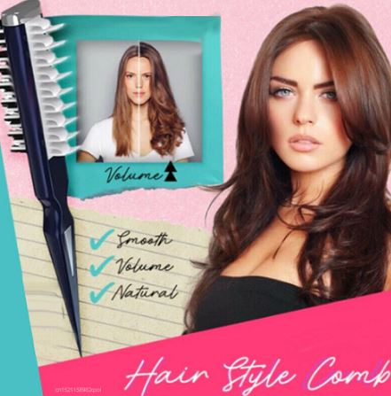 מסרק מקצועי לניפוח ועיצוב השיער