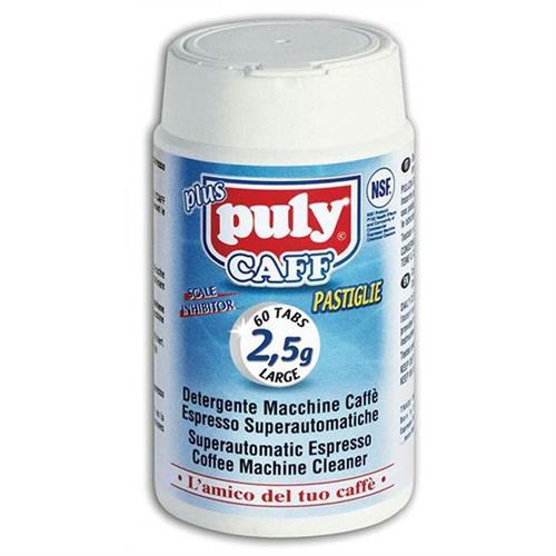 טבליות חזקות לניקוי שומנים למכונות קפה (60 יחידות) -Puly Caff