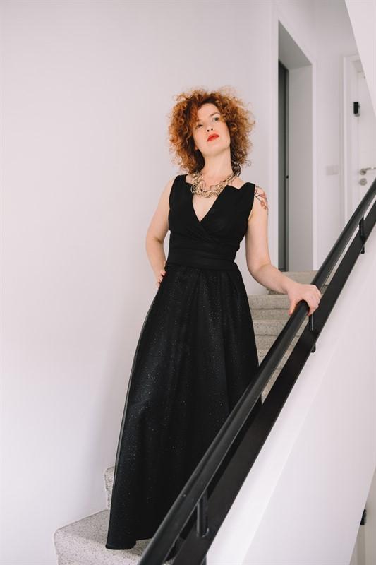 שמלה אפולו מקסי