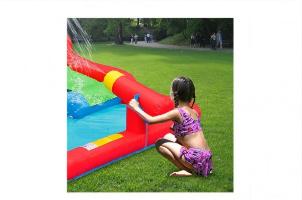 9271-מתקן קפיצה ומים אזור ההרפתקאות הפי הופ-Jump And Splash Adventure Zone Happy Hop-קפיץ קפוץ