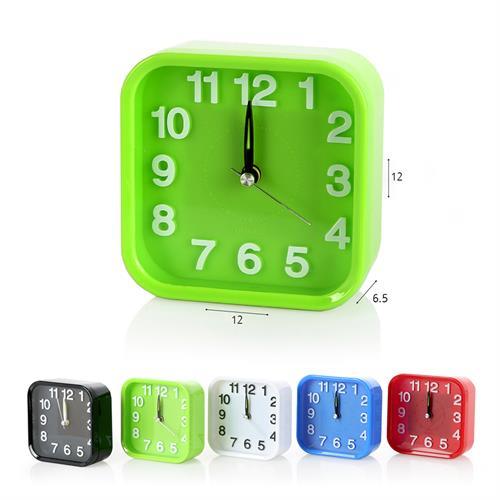 שעון מעורר מרובע צבעוני