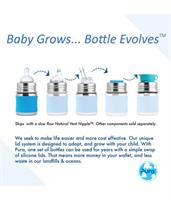 בקבוק תינוק 150ml - קנו בקבוק תינוק וקבלו זוג פטמות נוספות מתנה!