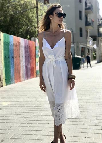 שמלת לורה קרושה לבן