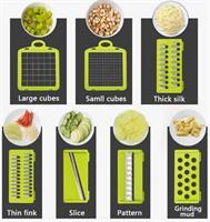 חותך ירקות רב תפקודי-7 להבים להחלפה