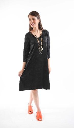שמלת מנגו שחורה