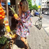 שמלת ליליאנה טרופי