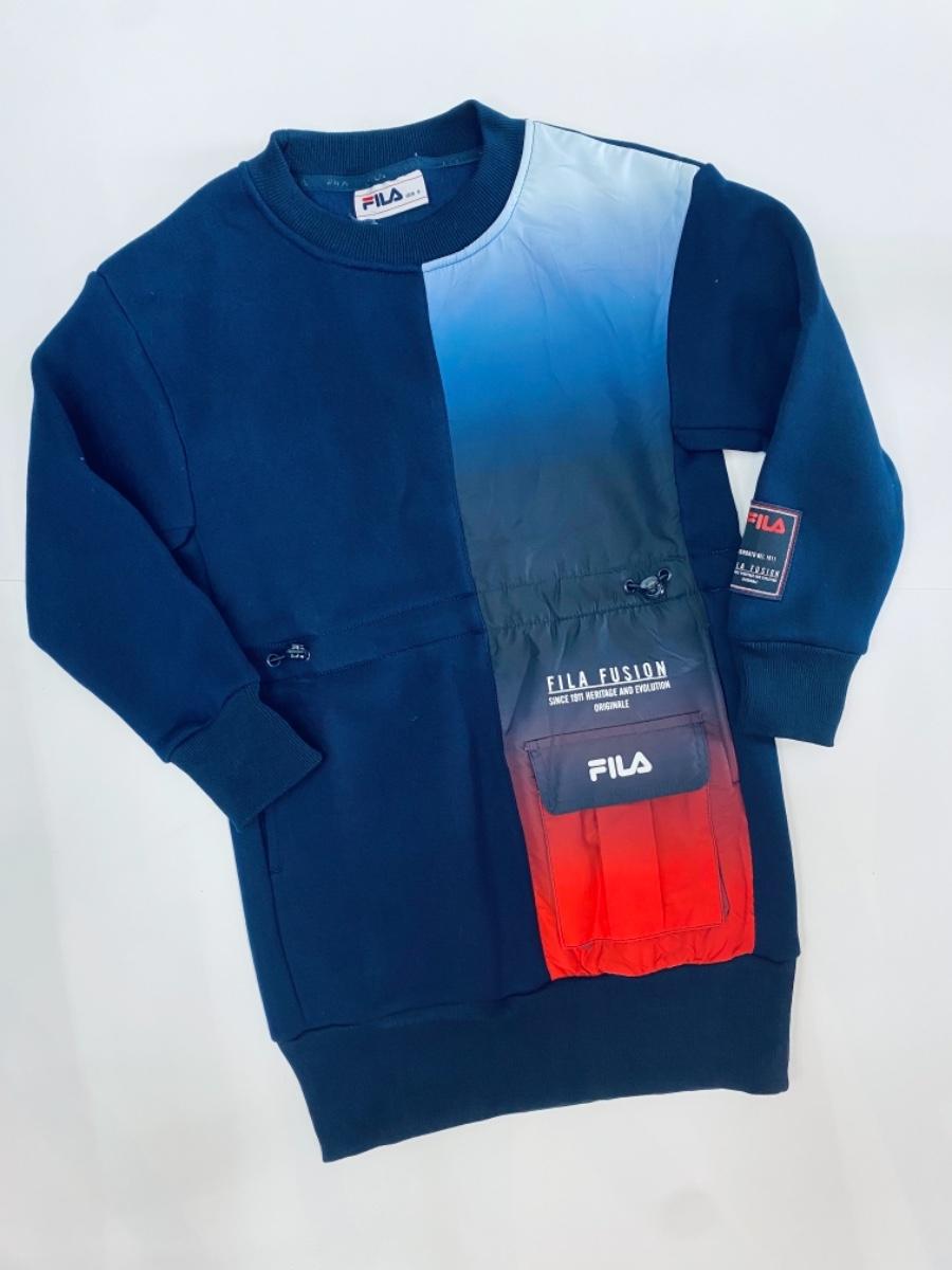 Fila שמלת פוטר לוגו אדום מידות 4-16