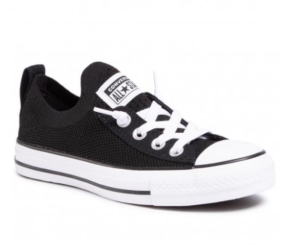 נעלי CONVERSE אולסטאר  נמוך שחור בלי שרוך יוניסקס