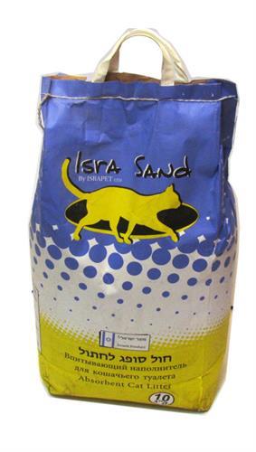 """חול סופג לחתול (ישראסאנד) 10 ק""""ג"""