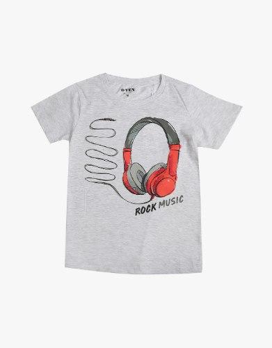 חולצה בנים ROCK MUSIC