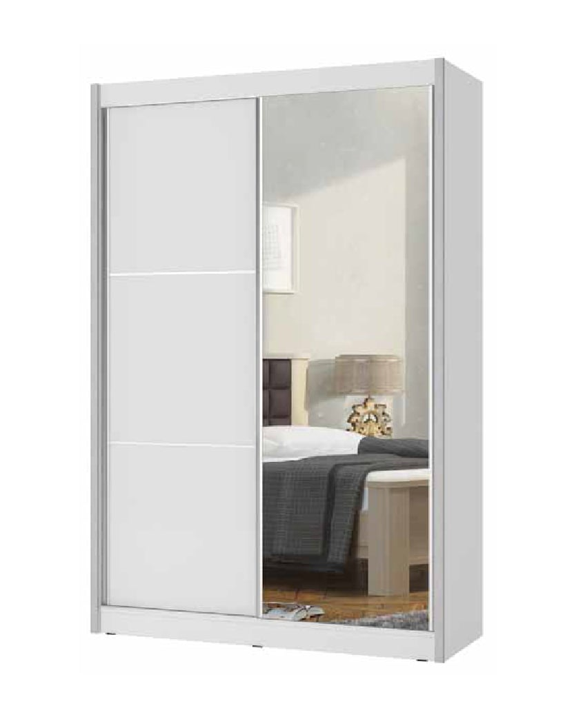ארון הזזה 2 דלתות גלבוע מראה