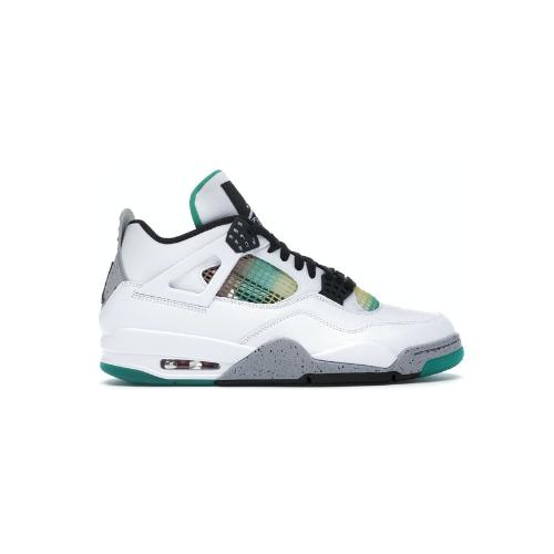 Nike Air Jordan 4 Retro Lucid Green Rasta