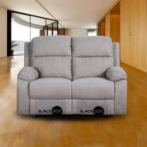 ספה 2 מושבים סיאסטה בד אפור