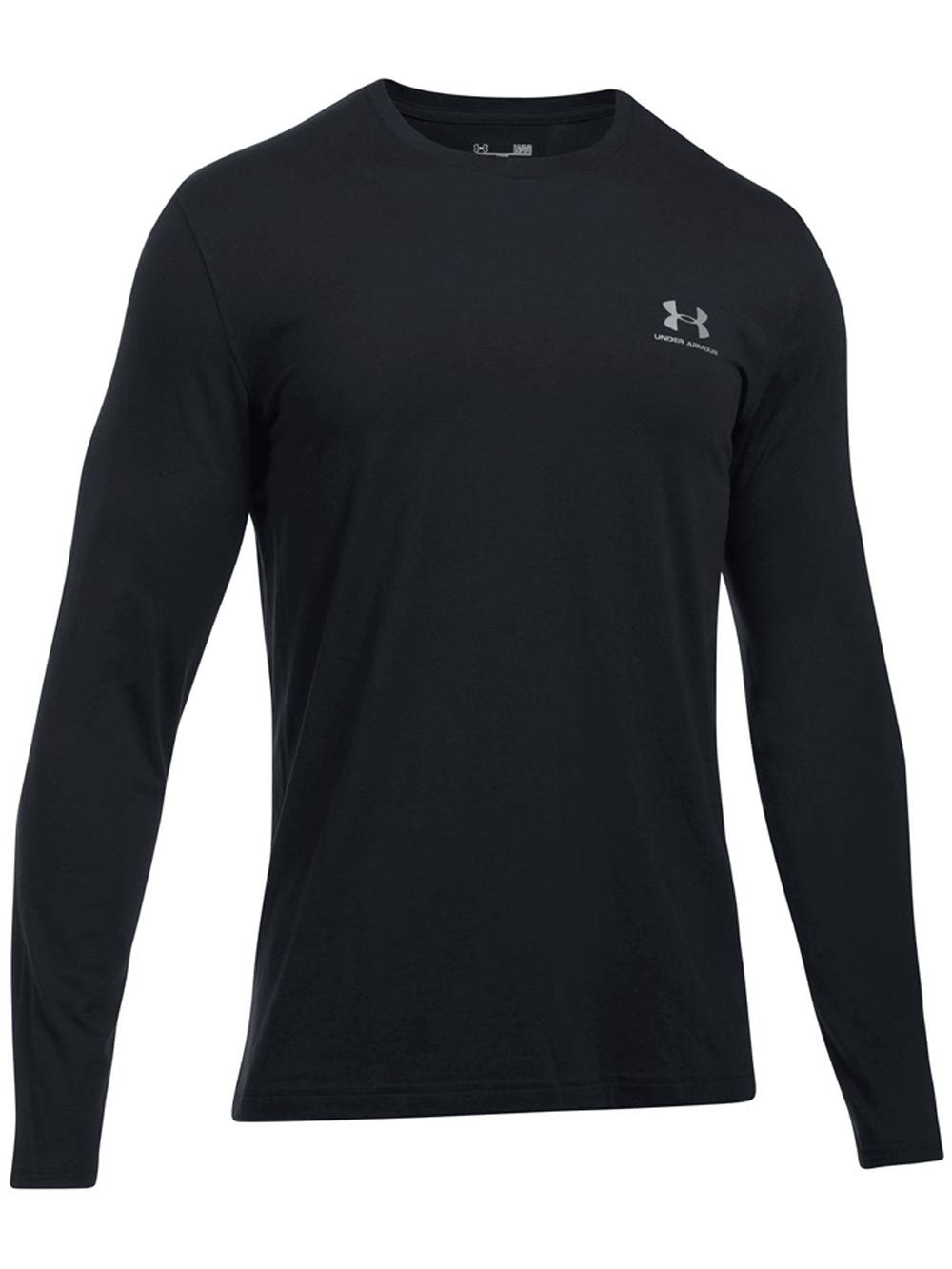 חולצת אימון אנדר ארמור שרוול ארוך לגבר 1289909-001 Under Armour men's long sleeve left Chest
