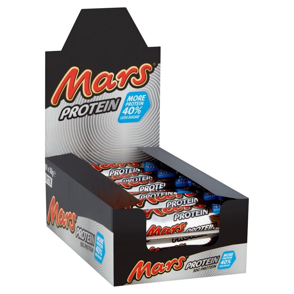 מארז 18 יח|MARS CHOCOLATE PROTEIN BARS 50G