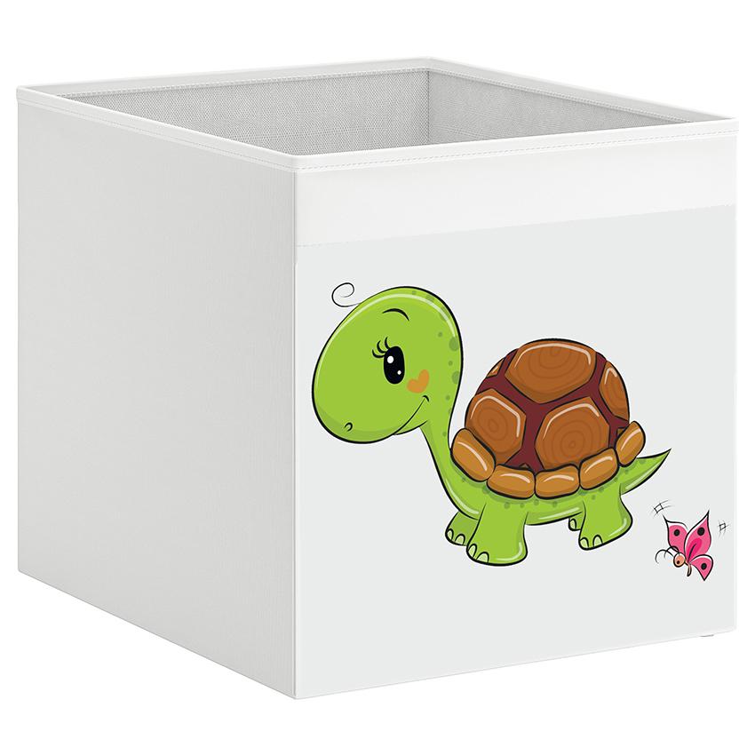 קופסת אחסון לכוורת עם הדפס-צב