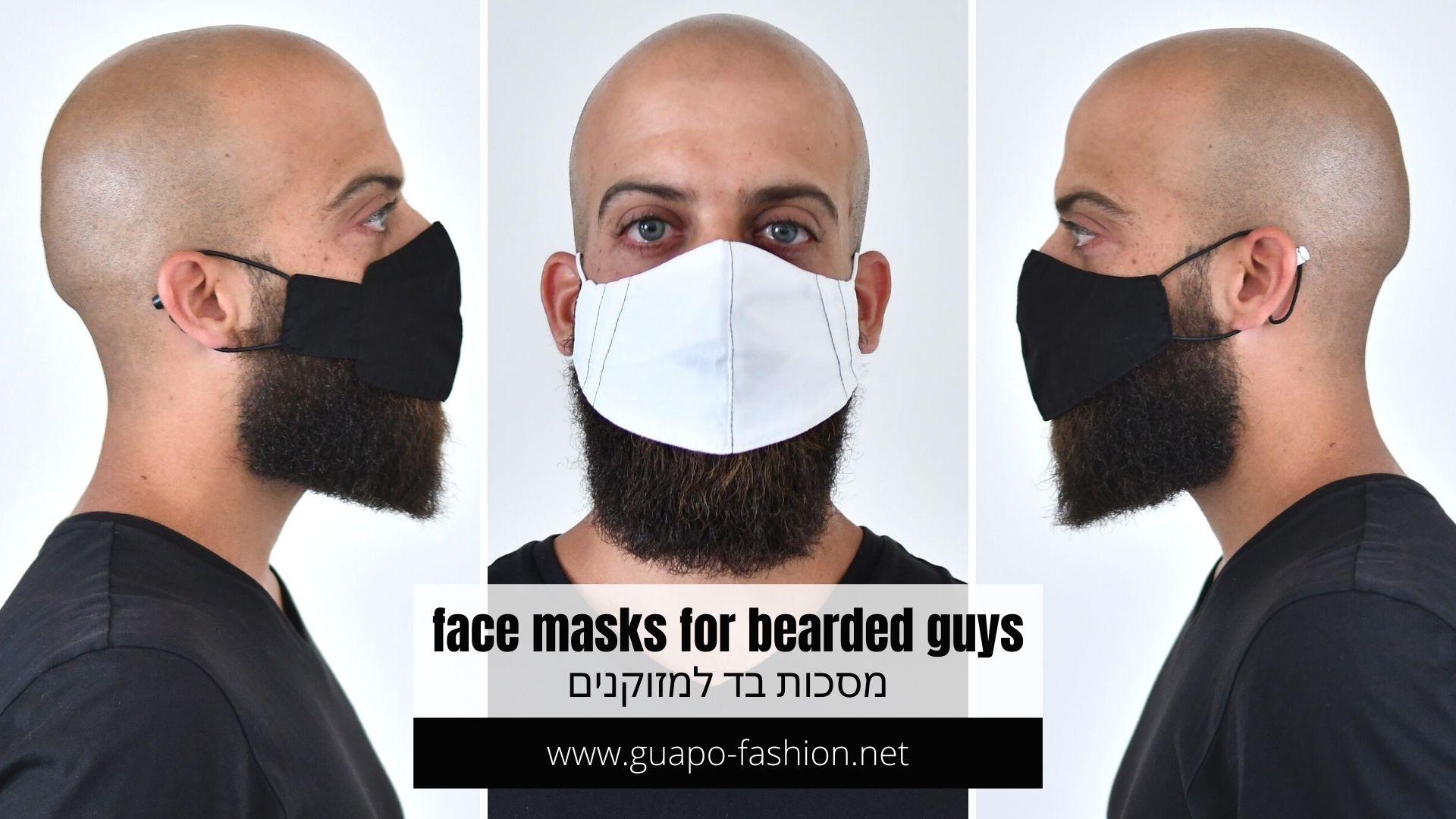face masks for bearded guys - guapo fashion