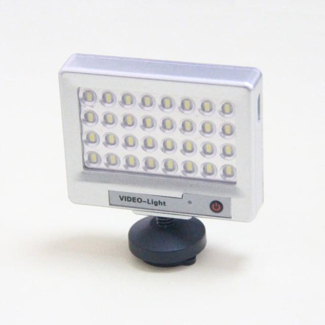 S60- מיני פנס LED למצלמות וידאו וטלפונים סלולריים 32 נורות LED