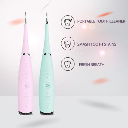 מנקה שיניים דנטלי חשמלי, נייד ונטען עמיד למים
